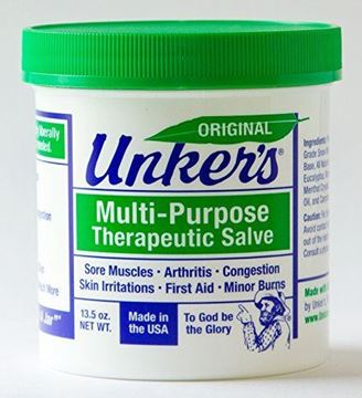 Picture of Unker's Multi Purpose Therapeutic Salve 13.5 oz