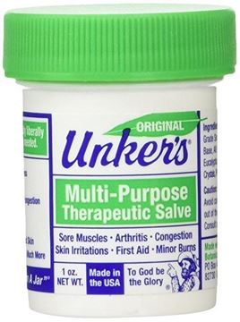 Picture of Unker's Multi-Purpose Medicated Salve 1 Oz