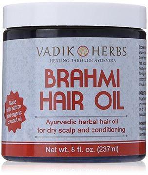 Picture of Vadik Herbs Brahmi Hair Oil (8 oz)