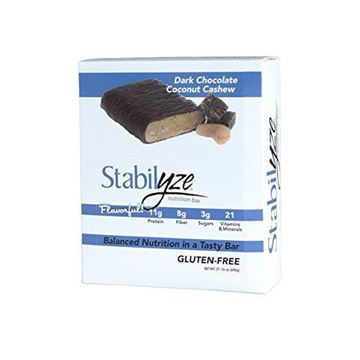 Picture of Stabilyze Nutrition Bar - Dark Chocolate Coconut Cashew,12 count