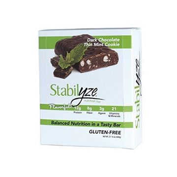 Picture of Stabilyze Nutrition Bar Dark Chocolate Thin Mint Cookie