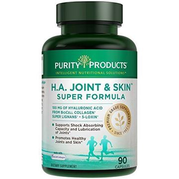 Picture of HA Joint Formula - Hyaluronic Acid from Purity Products, 90 capsules