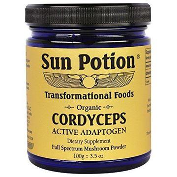 Picture of Sun Potion  Cordyceps Mushroom Powder (Organic) 3.5 oz