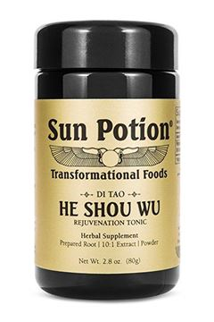Picture of Sun Potion He Shou Wu (Wildcrafted)  2.8 oz