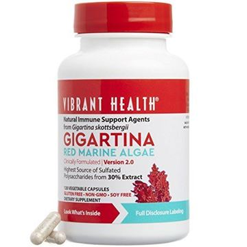Picture of Vibrant Health - Gigartina RMA 250 mg , 120 count