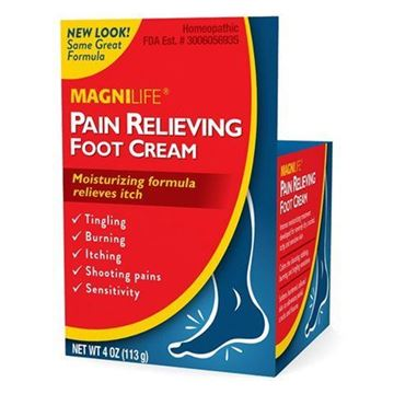 Picture of MagniLife Pain Relief Foot Cream, Shooting, Stabbing, Burning, and Tingling Fast Treatment