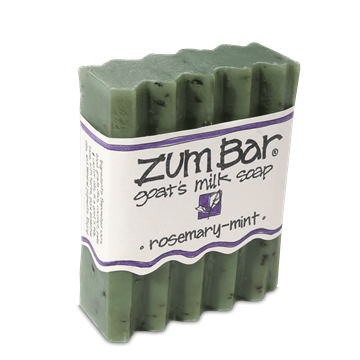 Picture of Indigo Wild  ZUM BAR GOAT'S MILK SOAP, ROSEMARY-MINT, 3 oz.