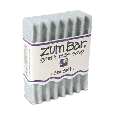 Picture of Indigo Wild   ZUM BAR GOAT'S MILK SOAP, SEA SALT  3 oz