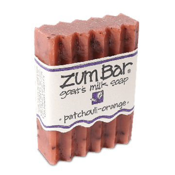 Picture of Indigo Wild  ZUM BAR GOAT'S MILK SOAP,  PATCHOULI-ORANGE  3oz