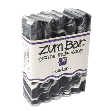 Picture of Indigo Wild  ZUM BAR GOAT'S MILK SOAP, CEDAR  3 OZ