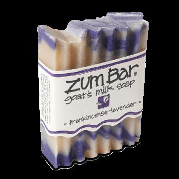 Picture of Indigo Wild  ZUM BAR GOAT'S MILK SOAP,  FRANKINCENSE-LAVENDER,  3 oz