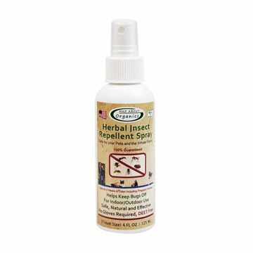 Picture of Mad About Organics   Organic Herbal Insect Repellent Spray, 4oz
