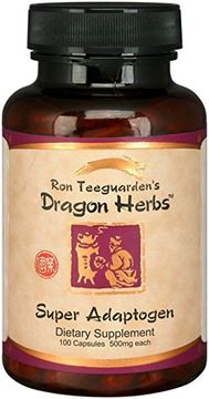 Picture of Dragon Herbs Super Adaptogen , 500 mg - 100 Capsules