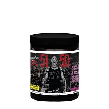 Picture of Rich Piana 5% Nutrition 5150 HIGH STIMULANT PRE-WORKOUT (Wildberry) 30 Servings