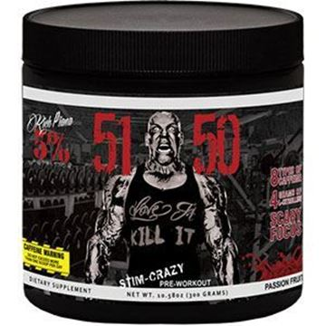 Picture of Rich Piana 5% Nutrition  5150 HIGH STIMULANT PRE-WORKOUT, Passion Fruit, 30 Servings