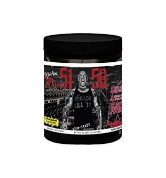 Picture of Rich Piana 5% Nutrition 5150 HIGH STIMULANT PRE-WORKOUT. Pomegranate, 30 Servings, 13.23 oz