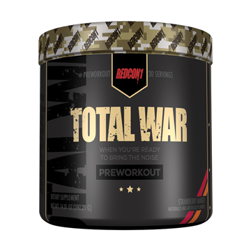Picture of Redcon1 TOTAL WAR - PRE WORKOUT, Blu Rassberry, 30 Servings