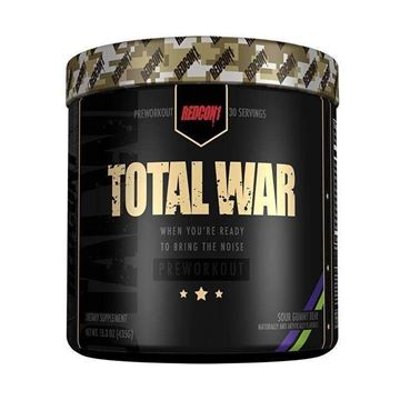 Picture of Redcon1 TOTAL WAR - PRE WORKOUT, Sour Gummy Bear,  30 Servings