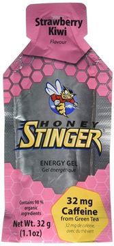 Picture of Honey Stinger Energy Gel, Strawberry/Kiwi, 1.2 Ounce pack of 24