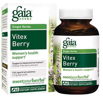 Picture of Gaia Herbs Vitex Berry 60 Count