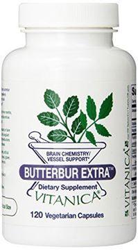 Picture of Vitanica Butterbur Extra, 120 Vegetarian  Capsules