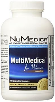 Picture of NuMedica - MultiMedica for Women - 120 Vegetable Capsules