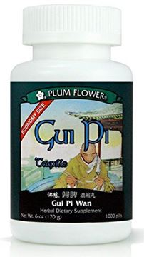 Picture of Gui Pi (Gui Pi Wan) Economy Size,1000 Ct, Plum Flower 6.0 Oz