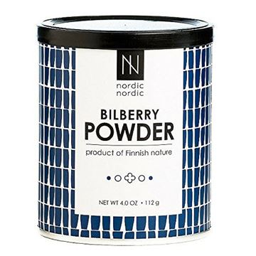 Picture of NordicNordic Bilberry Powder, Powerful Antioxidant Superfood (112 Gram)