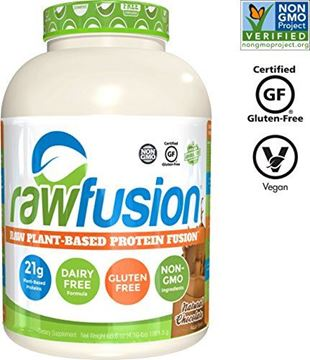 Picture of SAN Nutrition RawFusion Plant Protein Powder, Natural Chocolate, 4 Pounds