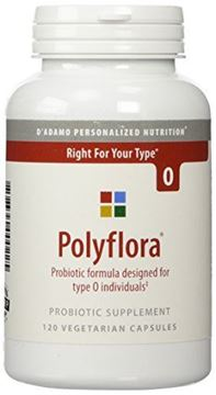 Picture of D'Adamo Personalized Nutrition Polyflora O, 120 Count
