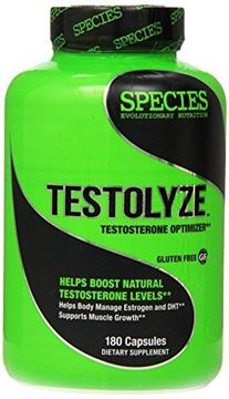 Picture of Species Nutrition Testolyze, 180 Count