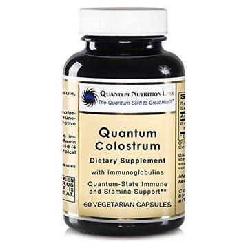 Picture of Quantum Colostrum, 120 veg caps (2 Bottles) - Pesticide-Tested Colostrum with immunoglobulins for Quantum-State Immune and Stamina Support