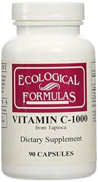 Picture of Ecological Formulas - Vitamin C-1000 from Tapioca 90 caps [Health and Beauty]