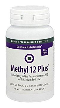Picture of D'Adamo Personalized Nutrition Methyl 12 Plus, 60 Count