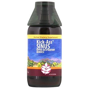 Picture of WishGarden Herbs - Kick-Ass Sinus, Organic Herbal Sinus Relief, Supports Healthy Mucus & Sinus Function (4 oz Jigger)