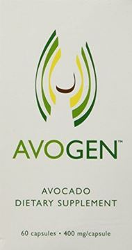 Picture of Avogen Avocado Dietary Supplement,60 capsules,400mg/capsule