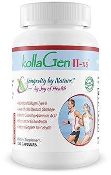 "Picture of Joy of Health - kollaGen II-xsâ""¢ ~ Cartilage Tissue & Chondrocyte Cell Support"