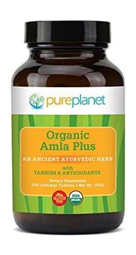 Picture of PURE PLANET Organic Alma-C Plus Tabs, 200 Count