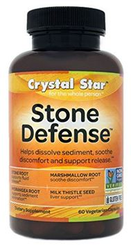 Picture of Crystal Star Stone Defense, 60 Vegetarian Capsules