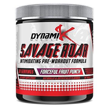 Picture of Savage Roar | Dynamik Muscle | Pre-Workout | Formulated By Kai Greene (Forceful Fruit Punch) 315 grams