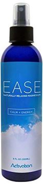 Picture of Activation Products – EASE Magnesium Spray – Pure Magnesium for Joint and Muscle Pain, Leg Cramp Relief – Sleep Supplement for Restless Leg Syndrome Relief - Includes eBook, 8 ounces
