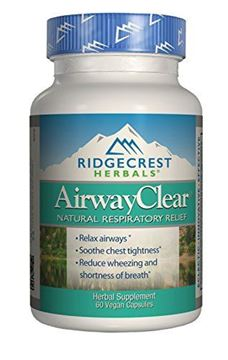 Picture of Ridgecrest Herbals - AirwayClear - 60 Vcap