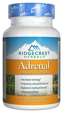 Picture of RidgeCrest Herbals Adrenal Fatigue Fighter - 60 Vegetarian Capsules