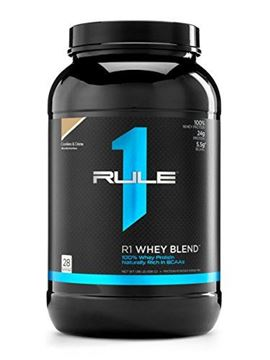 Picture of R1 Whey Blend, Rule 1 Proteins (Cookies and Creme, 28 Servings)
