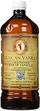 Picture of Clear Mexican Vanilla Cold Pressed 1 Liter / 33.8 Oz