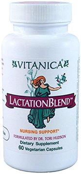 Picture of Vitanica - Lactation Blend - Nursing Support - 60 Vegetarian Capsules