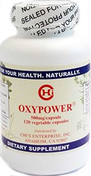 Picture of OxyPower by Chi's Enterprise 500mg, 120 Capsules