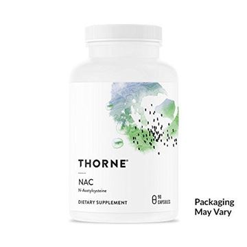 Picture of Thorne Research - NAC (Formerly Cysteplus) - N-Acetylcysteine for Liver Support, Detoxification, and Immune Function - 90 Capsules