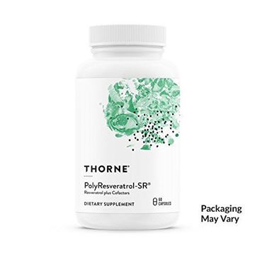 Picture of Thorne Research - PolyResveratrol-SR - Trans-Resveratrol Supplement for Healthy Aging - 60 Capsules