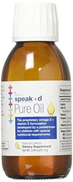 Picture of speak Pure Oil+d (Lemon - 3.04 oz) - NourishLife by SpeechNutrients